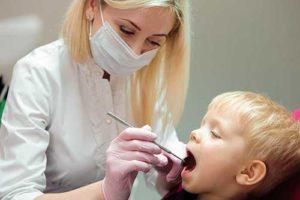 child receiving pediatric dentistry
